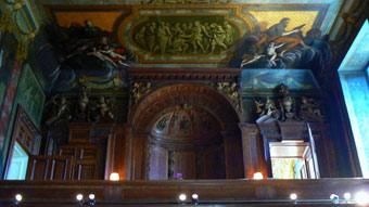 Chatsworth Chapel Interior Building Restoration Repairs