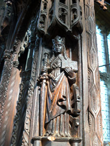 Ecclesiastical woodwork restoration in churches and cathedrals