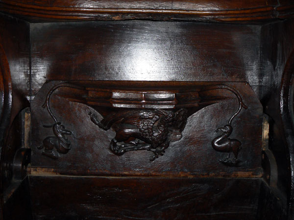 Church Misericord restoration and repair