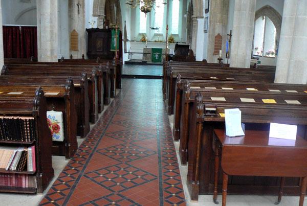 Church pews repair and restoration