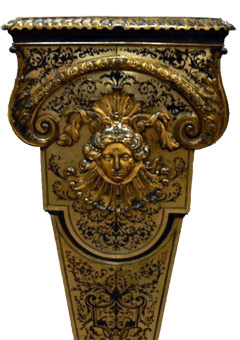 Boulle work decoration