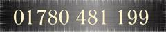 Telephone 01780 481199